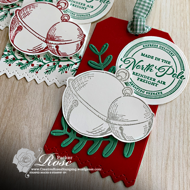 Rose Packer, Creative Roses, Stampin' Up!, Wishes & Wonder, Sounds of the Season, Curvy Christmas