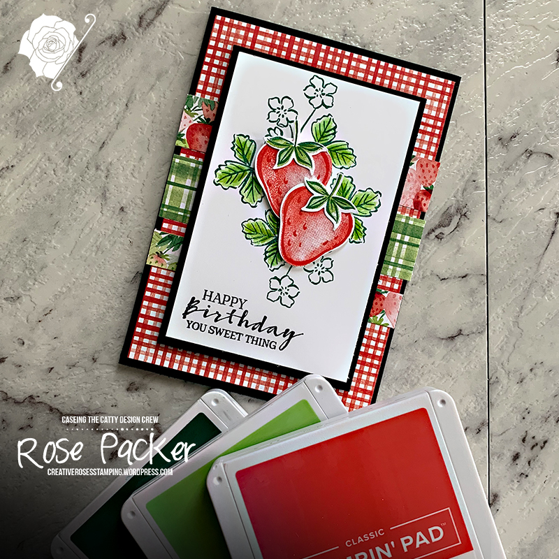 Rose Packer, Creative Roses, Stampin' Up!, Sweet Strawberry, Berry Blessings
