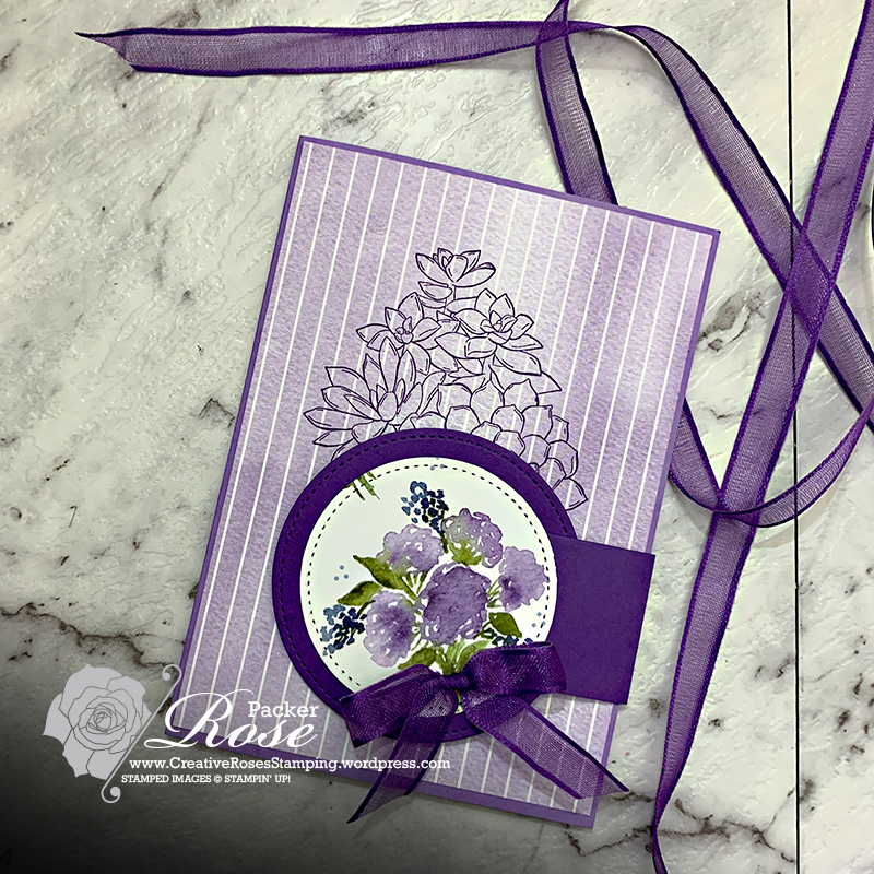 Rose Packer, Creative Roses, Stampin' Up!, You Can Create It, Hydrangea Hill, Simply Succulents