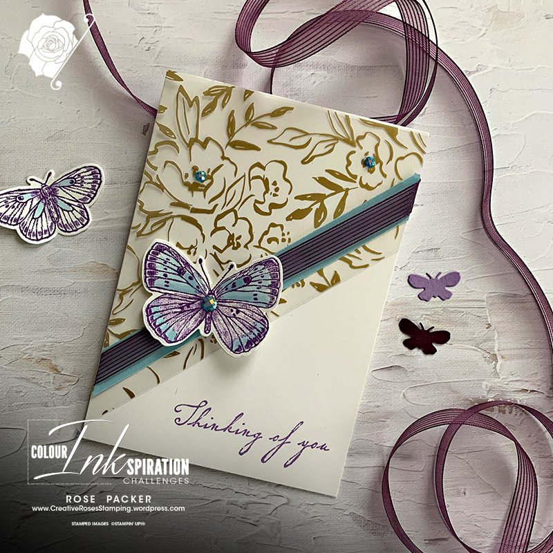 Rose Packer, Creative Roses, Stampin' Up!, Butterfly Bouquet, Butterfly Brilliance, Fine Art Floral suite