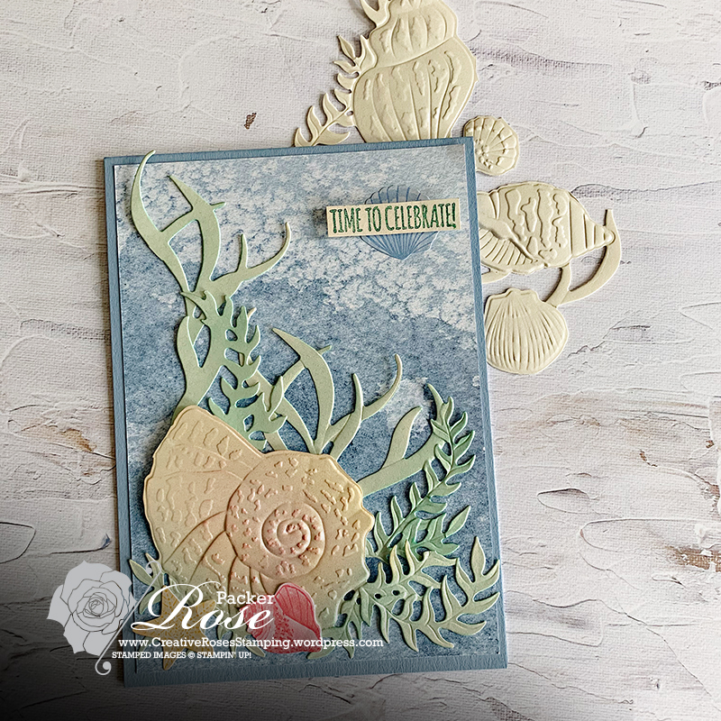 Rose Packer, Creative Roses, Stampin' Up!, Sand and Sea Suite, YCCI