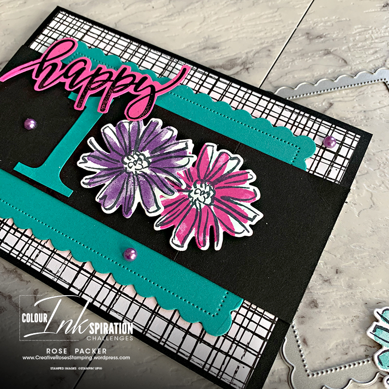 Rose Packer, Creative Roses, Stampin' Up!, Colour and Contours