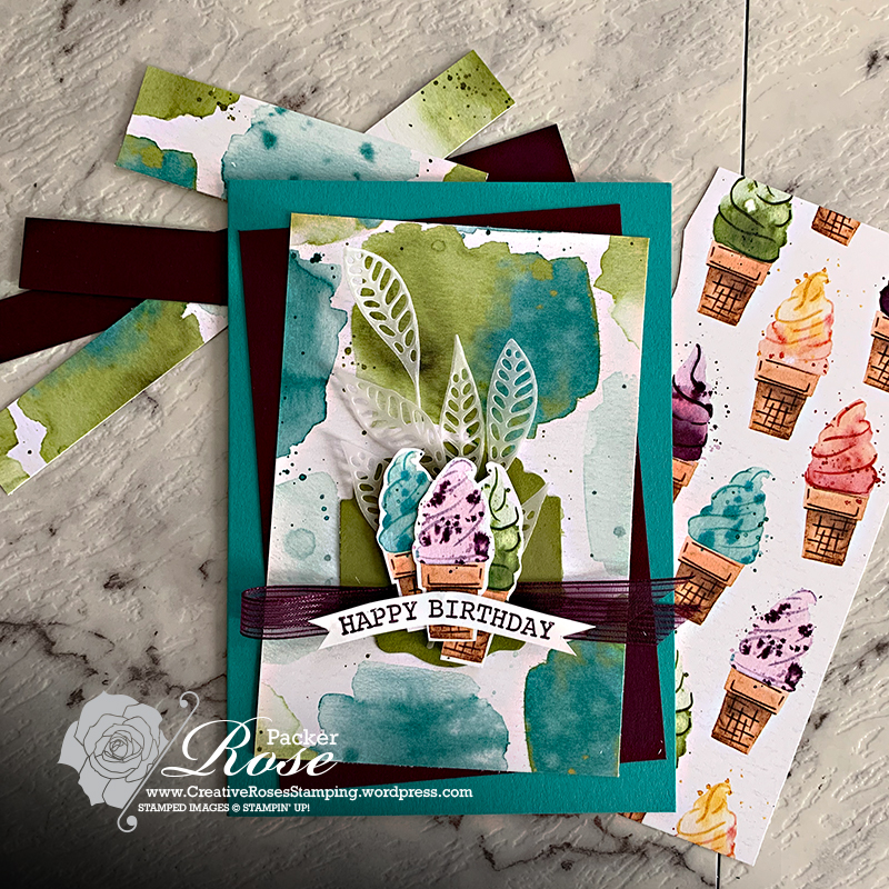 Rose Packer, Creative Roses, Stampin' Up!, Ice Cream suite