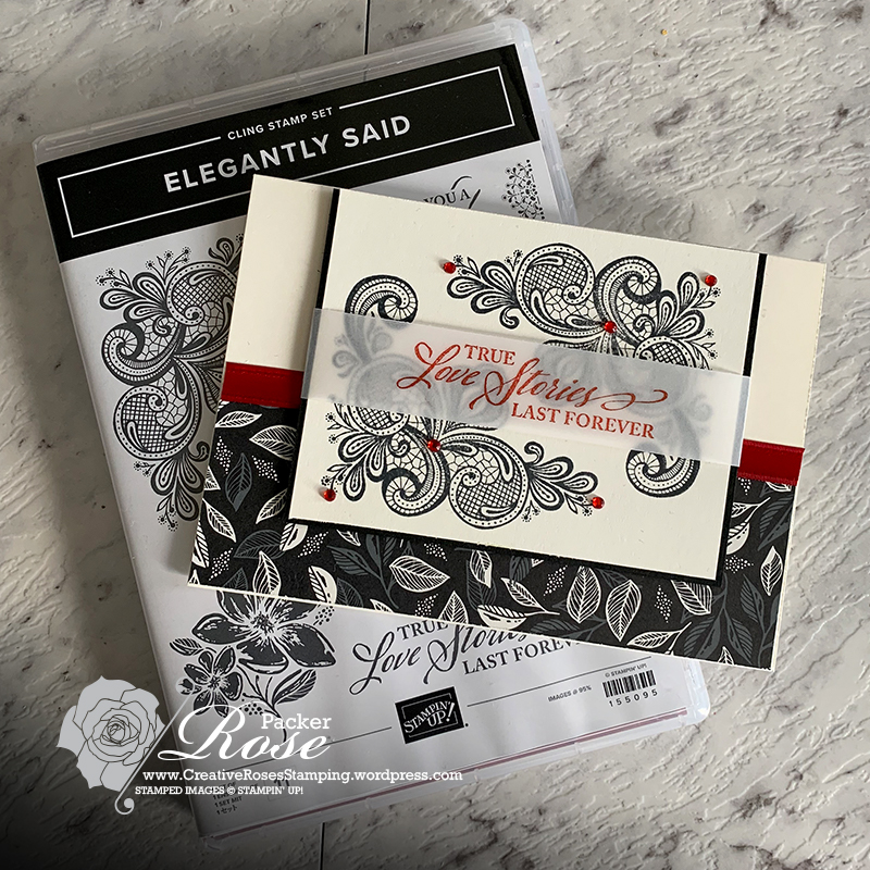 Rose Packer, Creative Roses, Stampin' Up!, Simply Elegant, Elegantly Said, You Can Create It, YCCI