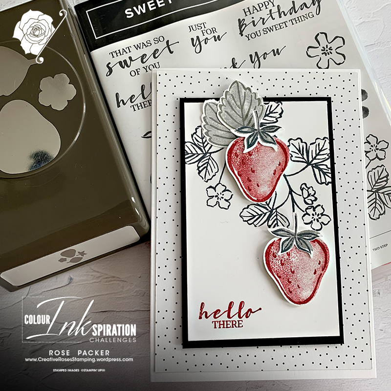 Rose Packer, Creative Roses, Stampin' Up!, Sweet Strawberry bundle