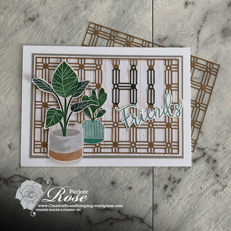 Rose Packer, Creative Roses, Stampin' Up!, Bloom Where You're planted, YCCI